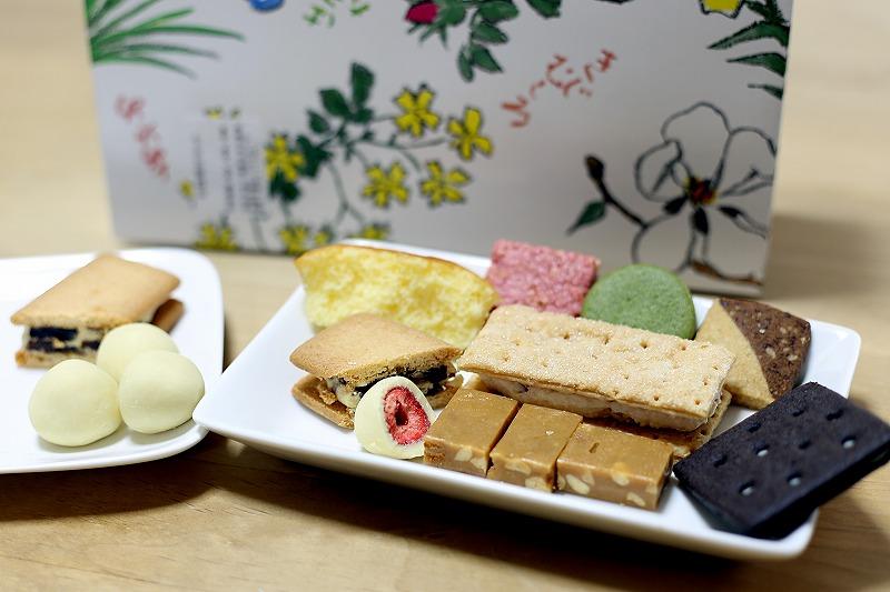 どれを食べても美味しい六花亭のお菓子が集合