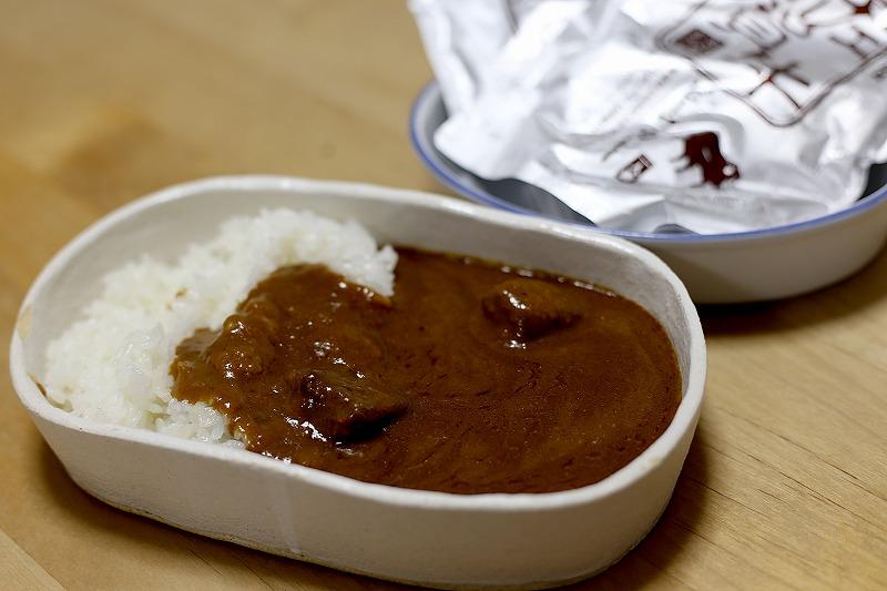 お肉がゴロっと和多屋特製の佐賀牛カレー