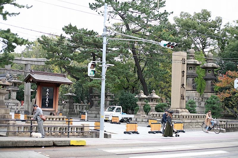 大阪を代表する神社の住吉大社