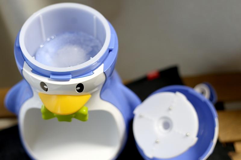 ペンギン型のかき氷器