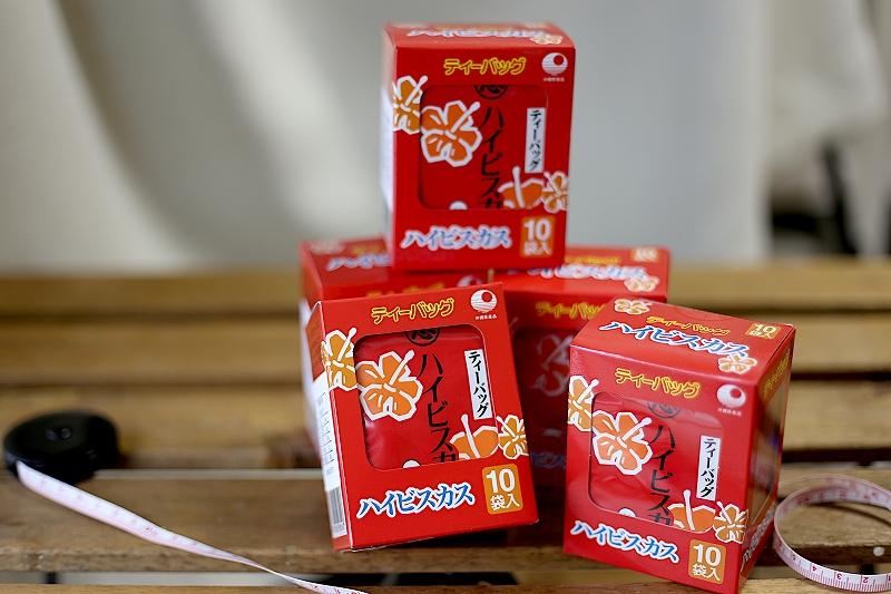 計50個の比嘉製茶のハイビスカス茶
